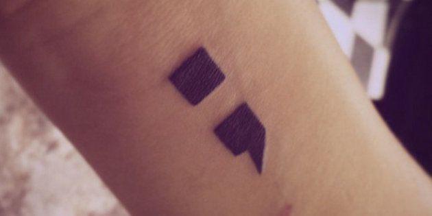 Por que as pessoas estão compartilhando fotos de tatuagens de