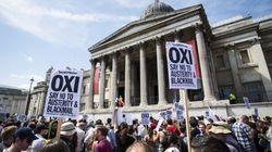 Na véspera de referendo grego, pesquisas mostram equilíbrio entre