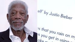 Morgan Freeman faz leitura dramática (e arrasadora) de 'Love Yourself' de Justin