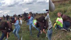 Repórter que chutou refugiados diz ter tido ataque de