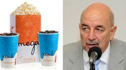 Câmara paga até pipoca e refrigerante em cinema de