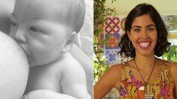 Mamãe Bela Gil dá exemplo e incentiva: 'Dar de mamar é perfeição da