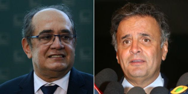 Gilmar Mendes autoriza abertura de segundo inquérito contra Aécio