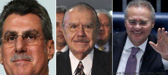Janot pede prisão de Jucá, Renan e Sarney por tentativa de barrar Lava