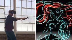 Animador da Disney faz desenhos de personagens em realidade
