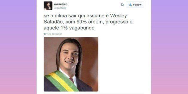 Se a Dilma cair, quem assume? Estes tweets provam que a internet já