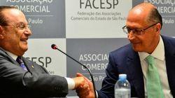 'SP é o oásis de honestidade', diz Maluf ao 'lançar' Alckmin para Presidência em