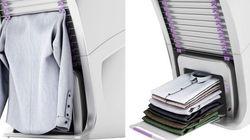 ASSISTA: Esta máquina promete lavar, passar e dobrar roupas em