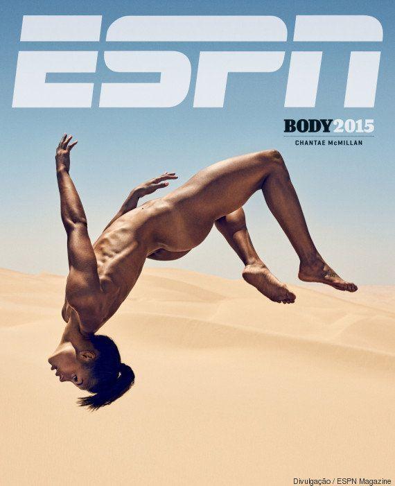 ESPN tira roupa de atletas e comprova que a beleza do corpo tem diferentes