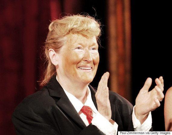Meryl Streep faz paródia de Donald Trump e prova que nenhum papel é impossível para