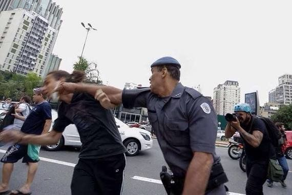 'O protesto dos estudantes em São Paulo é