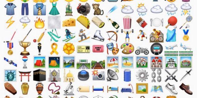Nova atualização do iPhone incluirá emojis de dedo do meio e hang