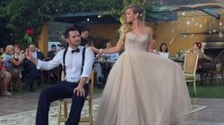 ASSISTA: Noivos trocam valsa da 1ª dança por coreografia cheia de...