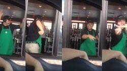 ASSISTA: Este funcionário do Starbucks atende os clientes