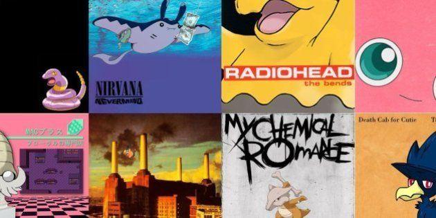 Pokécovers: página do facebook transforma pokémons em capas de discos