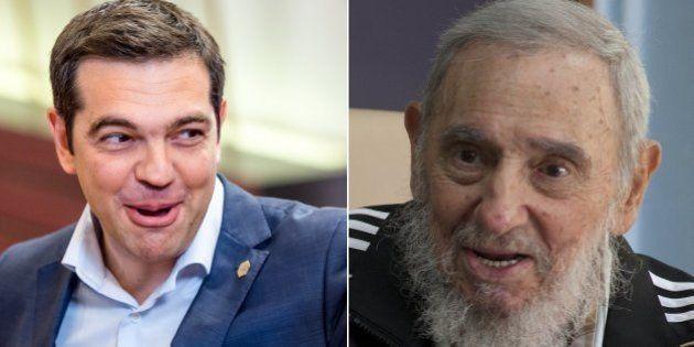Fidel Castro envia carta cumprimentando primeiro-ministro da Grécia por vitória do 'não' em