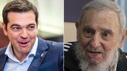 Em carta, Fidel cumprimenta premiê grego por resultado de