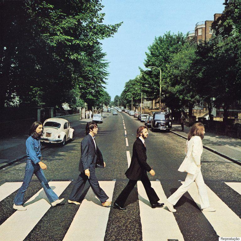 Veja a idade de John Lennon, Paul McCartney, George Harrison e Ringo Starr em cada disco dos