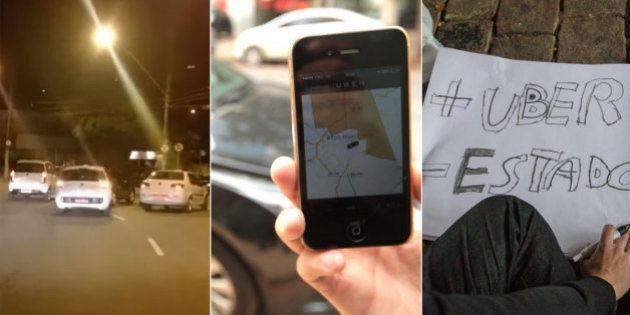Perseguições e violência: Conflito entre taxistas e Uber aumenta em BH e pode avançar para outros Estados