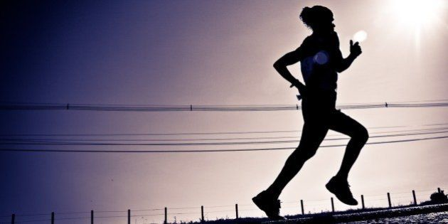 A marathonist running on the Foz do Iguaçu International Marathon, promoted by SESC PR.Foz do Iguaçu,...