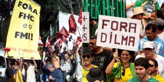 'Golpismo' apontado por Dilma Rousseff e pelo PT em 2015 já foi incentivado há 16 anos, no governo