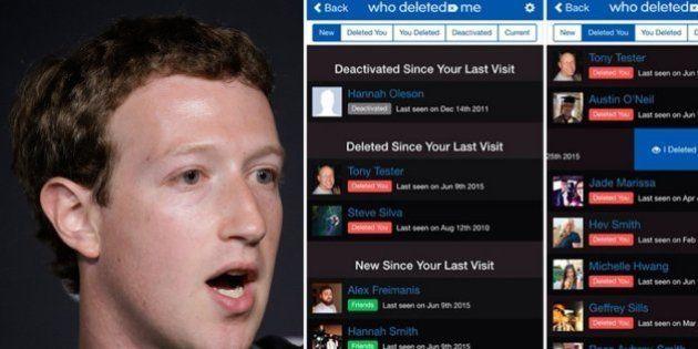 Who Deleted Me: veja quem deixou de ser seu amigo no Facebook com apenas um