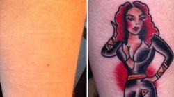 Este tatuador usa seu tempo de descanso para ajudar pessoas que se