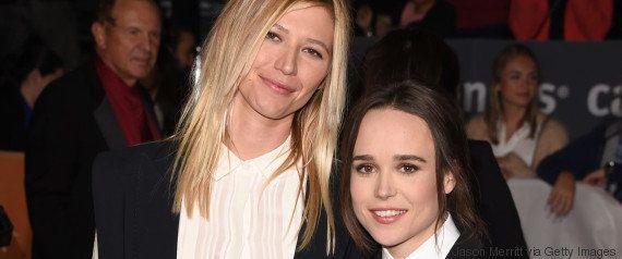 Ellen Page faz 1ª aparição ao lado da namorada e prova que o amor venceu