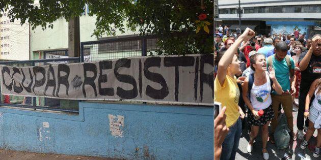 #OcupaEscola: MP-SP e Defensoria mantêm ação contra governo de SP e pedem que ocupações