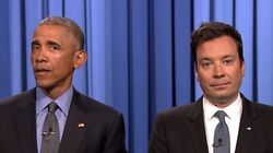 Com Jimmy Fallon, Obama MANDA A REAL para Donald