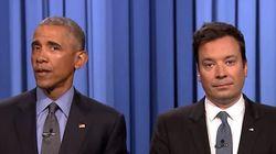 Com Jimmy Fallon, Obama MANDA A REAL para Donald