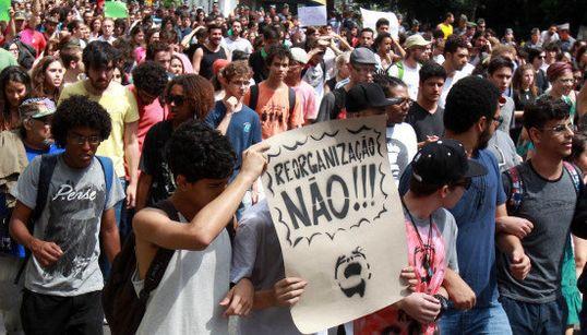 FOTOS: Sábado foi dia de comemorar a VITÓRIA do #OcupaEscola em