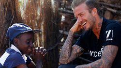 David Beckham: 'HIV e seca têm impacto devastador na vida das crianças na