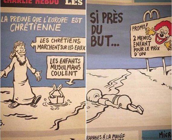 Charlie Hebdo desencadeia nova polêmica com charges sobre