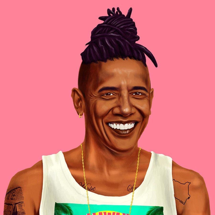 Como seria se os seus líderes políticos preferidos fossem hipsters?