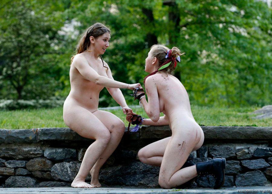 Girls Kitzler Outdoor Sadomaso