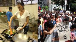 #OcupaEscola: Chef do 'MasterChef' dá o seu apoio aos estudantes em