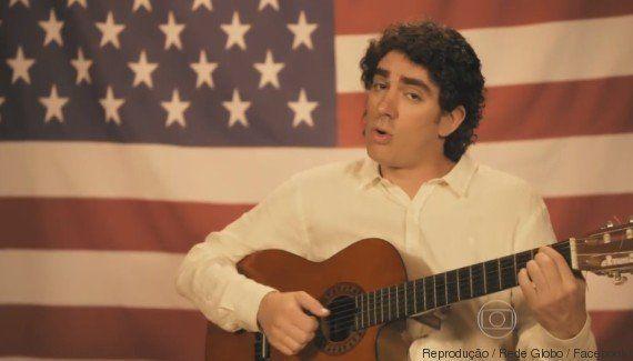 Marcelo Adnet cria o incrível Chico Buarque de Orlando, o cantor popular da direita