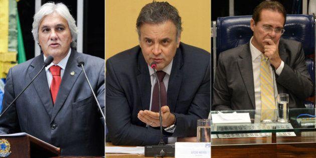 Delação premiada de Delcídio do Amaral traz nomes de Aécio Neves e Renan Calheiros, diz