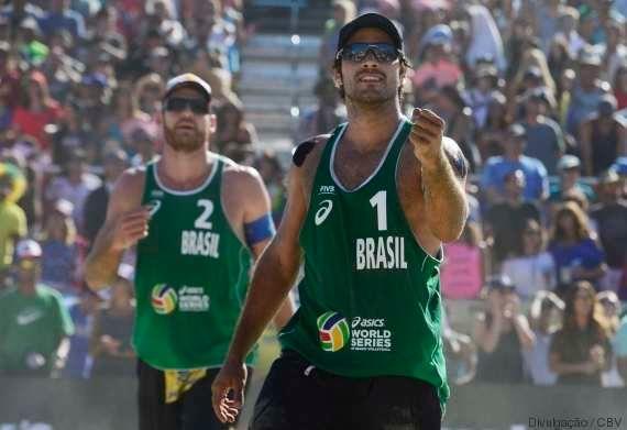 Brasil escolhe duplas para o vôlei de praia na Olimpíada do