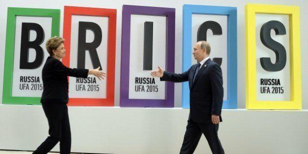 No BRICs, Dilma diz estar 'tranquila' com queda nas bolsas da