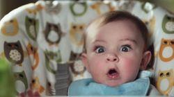 ASSISTA: Em câmera lenta, vídeo mostra a reação de bebês... Fazendo