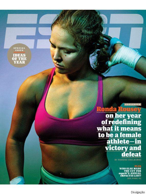 Após nocaute histórico, Ronda diz que ficou 'triste para c*aralho' e que levará meses até conseguir comer...