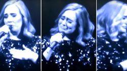 Adele cai no choro ao dedicar show às vítimas de ataque em Orlando