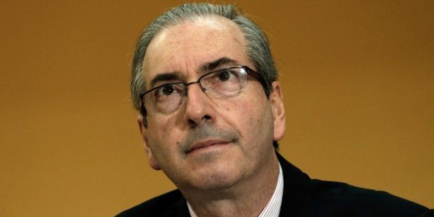 The president of the Chamber of Deputies, Eduardo Cunha, from the Brazilian Democratic Movement Party...