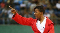 Judoca belga é apresentada e sente o racismo brasileiro já no