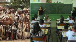 A África precisa chegar a todas as salas de aula do