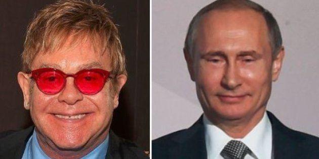 Elton John transforma brincadeira em chance de falar sobre homofobia na