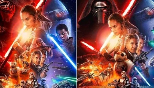 Protagonista negro de 'Star Wars' é encolhido em pôster