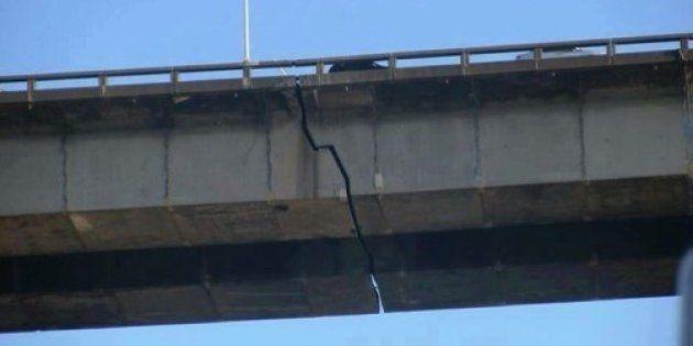 Imagem de ponte com rachadura assusta internautas; Saiba onde